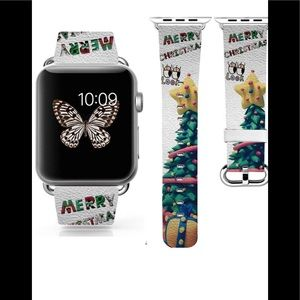 Apple Watch band Christmas leather New
